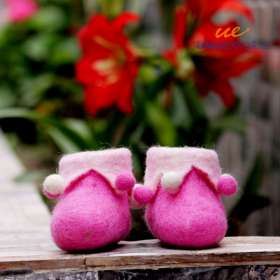Children Felt Slippers Shoes